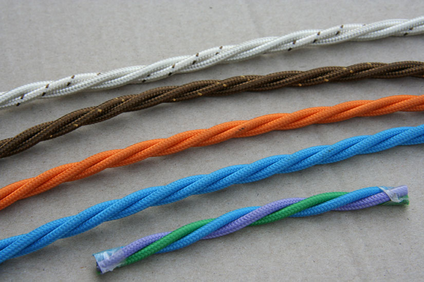 Filo a treccia elettrico pannelli termoisolanti - Colori cavi elettrici casa ...